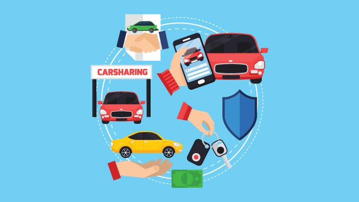 Rideshare software app